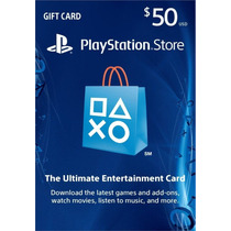 Cartão Psn $50 Usd - Playstation Network