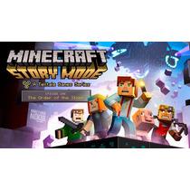 Minecraft Story Mode, Ep:1 , Play 3 Código Psn !!
