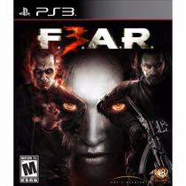 Fear 3 Ps3 - Mídia Física - Novo - Original - Lacrado