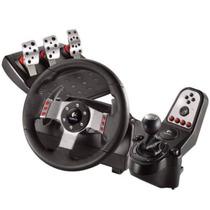 Volante Logitech G27 Racing Wheel Com Pedal E Câmbio -pc/ps3