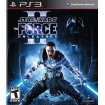 Star Wars The Force Unleashed 2 Ps3 Codigo Psn