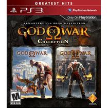 Playstation 3 - God Of War Collection (god Of War 1 E 2) Gre