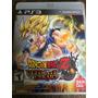 Dragon Ball Z Ultimate Tenkaichi Ps3 - Mídia Física - Usada