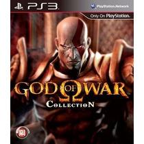 God Of War Colletion 1 E 2 + 3 De Brinde - Semi Novo