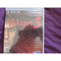 Yakuza 3 Sony Playstation 3 Ps3 Sega