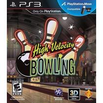 Ps3 - High Velocity Bowling - Disco Original (psmovie)