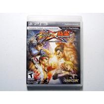 Jogo Street Fighter X Tekken Ps3