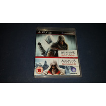 Assassins Creed Revelations E Brotherhood Playstation 3 Ps3