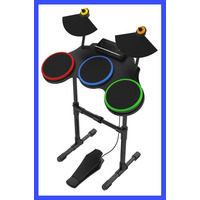 Bateria Ps3 Guitar Hero Playstation 3 Ps2 Rock Band Novo
