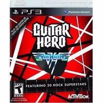 Manual De Instruções Do Jogo Guitar Hero Van Halen Ps3