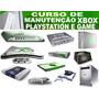 Curso Manutenção Playstation , Xbox Vídeo Games Em 05 Dvd¿s