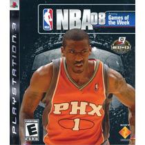 Jogo Para Playstation 3 - Nba08