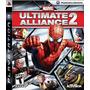 Manual Instruções Do Jogo Marvel Ultimate Alliance 2 Ps3