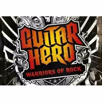 Manual Instruções Jogo Guitar Hero Warriors Of Rock Hero Ps3
