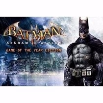 Manual Instruções Batman Arkham Asylum Game Of The Year Ps3