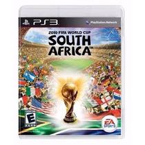 Manual Instruções 2010 Fifa World Cup South Africa Ps3 Usado