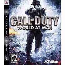 Manual Instruções Call Of Duty World At War Ps3 Original