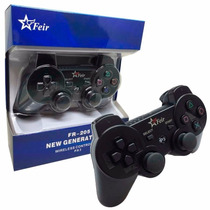 Kit 2 Controle Play 3 - 2 Joystick Ps3 - 2 Manete Ps3 - Top!