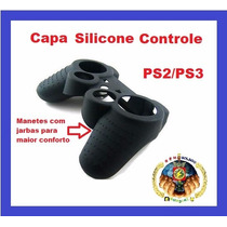Capa Case Silicone Controle Playstation 2 Ps3 Original Cerda
