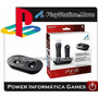 Carregador Base Playstation Move Sony P/ 2 Controles Ps3 Ps4