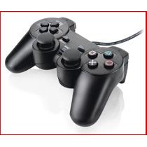 Controle Playstation 3 E Pc Com Fio Usb Joystick Ps3 Novo