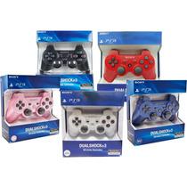 Controle Para Playstation3 Ps3 Original 1º Linha Cores!
