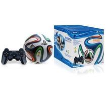 Controle Ps3 + Bola Brazuca Copa Mundo 2014 Edição Especial