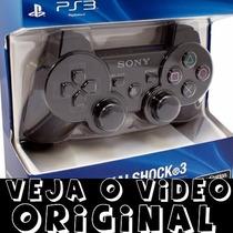 Controle Sony Playstation 3 Original Lacrado No Blister!
