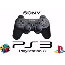 Controle Ps3 Sem Fio Dualshock 3 Original Sony Preto