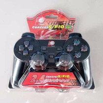 Controle Sem Fio 2.4ghz Players P/ Playstation2 Ps2 - Novo