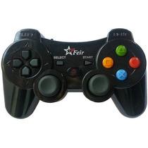 Controle Sem Fio 4 Em 1 Pc Ps3 Ps2 Ps1 Recarregável Wireless