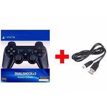 Controle Ps3 Sem Fio Dualshock 3 Wireless + Cabo Usb