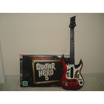 Guitarra Para Ps3 Do Guitar Hero 5