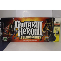 Guitar Hero Ps3 3 Legends Of Rock Original Completo Na Caixa