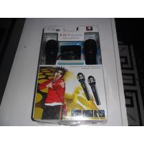 Microfone Gamer 5 Em 1 Wii,ps2,ps3,xbox360 E Pc.