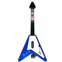 Guitarra Com Fio Para Ps3 Ps2 E Pc Com 10 Botões