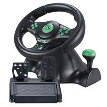 Volante C/ Pedal Multilaser Racer - Ps2, Ps3, Pc E Xbox360