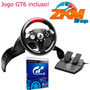 Volante T60 Thrustmaster Racing Wheel Ps3 Com Jogo Gt6