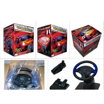 Gt-4 Racing Wheel Ps2, Usb Adequado Para Pc