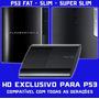 Hd 500gb Uso Exclusivo Ps3 Play3 Playstation Com Manual