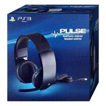 Headset Sony Pulse 7.1 Com Fio Ps3 Ps4 Pc Stereo Virtual