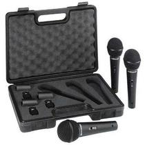 Microfone Behringer Modelo Xm1800s Kit Com 3