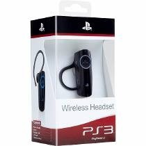 Headset Sony Wireless Bluetooth Original Novo Ps3