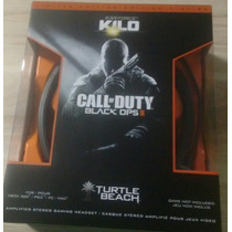 Headset Turtle Beach Black Ops Ii Kilo Ps3 Ps4 X360 Pc E Mac