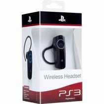 Fone Headset 2.0 Wireless Bluetooth Ps3 Sony Original