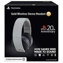 Headset Gold 7.1 Wireless Ps3 Ps4 Ps Vita Pc Edição Especial