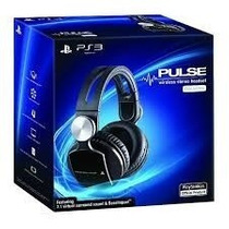 Headset Wireless Pulse Elite Edition Ps3 Ps4 Ps Vita Pc