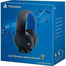Headset Gold 7.1 Wireless Stereo Ps3, Ps4, Psp, Psvita, Pc