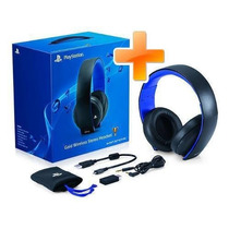 Headset Gamer Gold 7.1 Wireless Stereo Sony Pc Ps3 Ps4