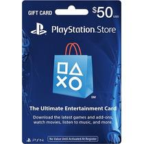Cartão Playstation Store Americana $50 Psn U S A